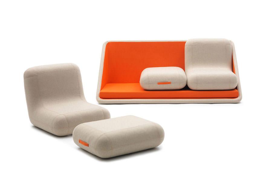 Divano modulare dal design moderno n.14