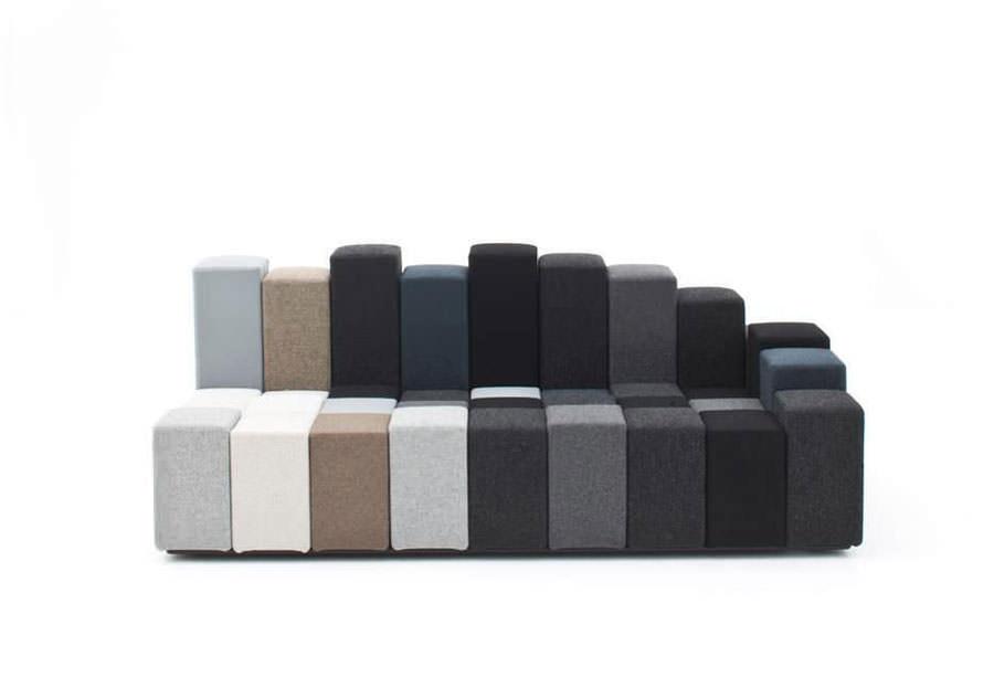 Divano modulare dal design moderno n.16
