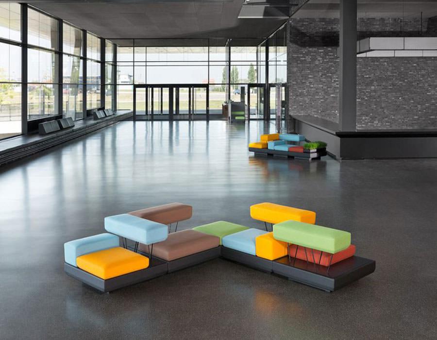 Divano modulare dal design moderno n.19