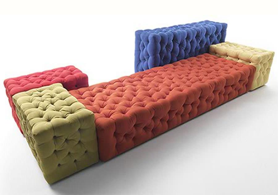 Divano modulare dal design moderno n.21