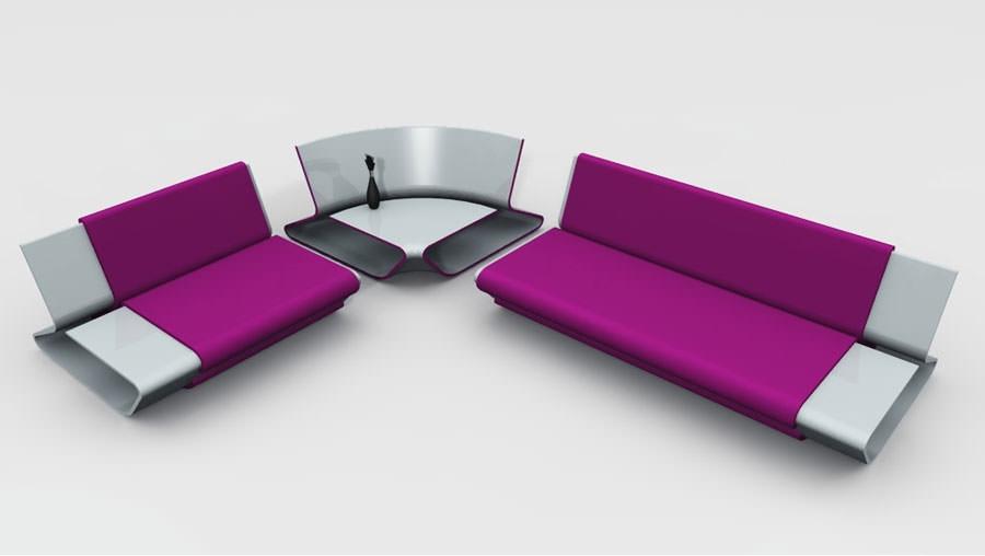 Divano modulare dal design moderno n.24