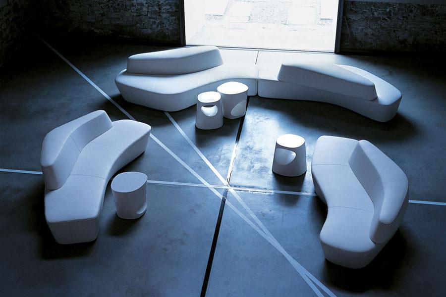Divano modulare dal design moderno n.25