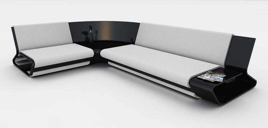 Divano modulare dal design moderno n.26