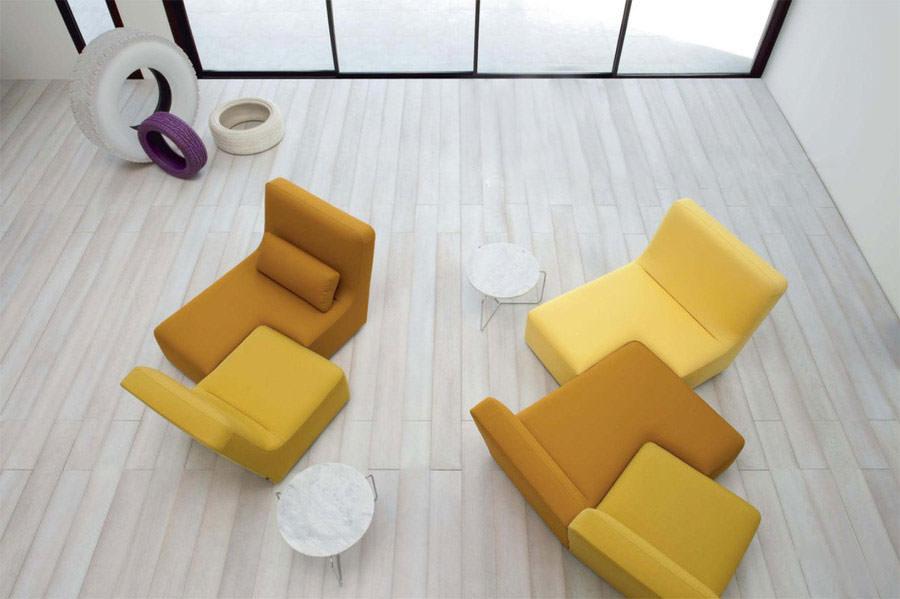 Divano modulare dal design moderno n.28