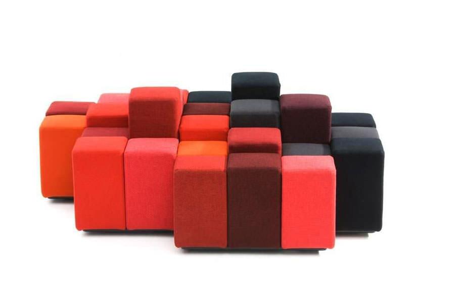 Divano modulare dal design moderno n.29