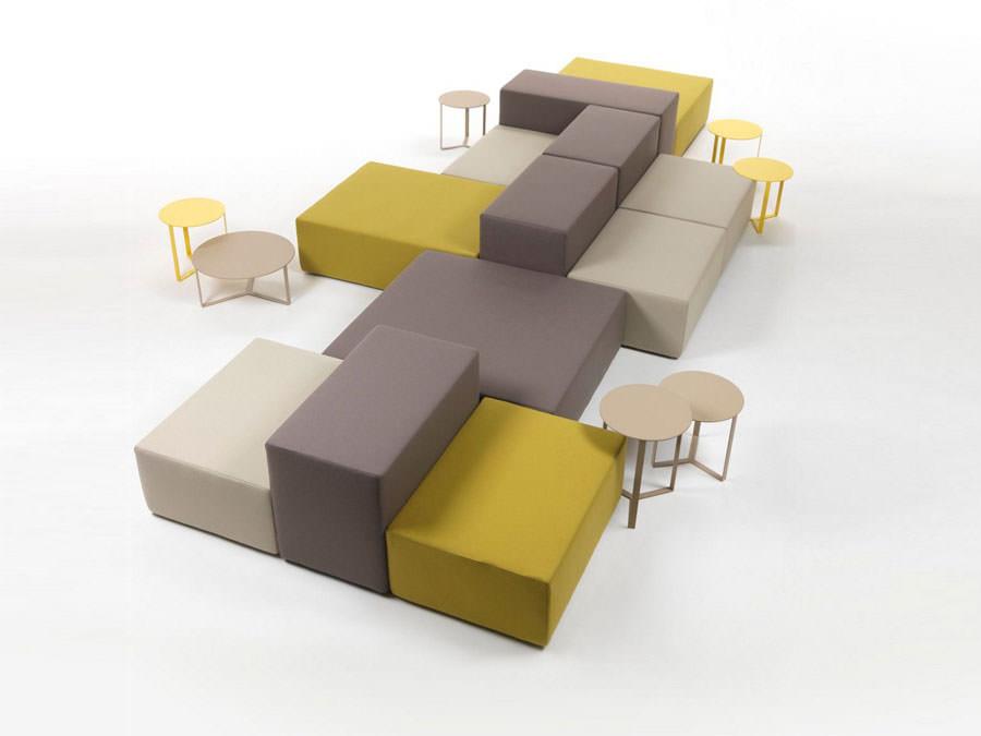 Divano modulare dal design moderno n.30