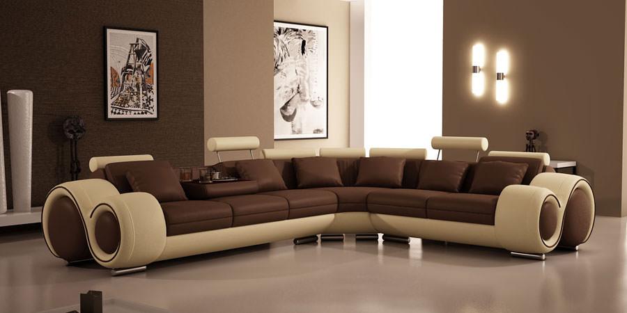 Divano modulare dal design moderno n.31