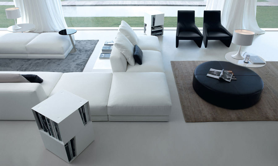 Divano modulare dal design moderno n.34