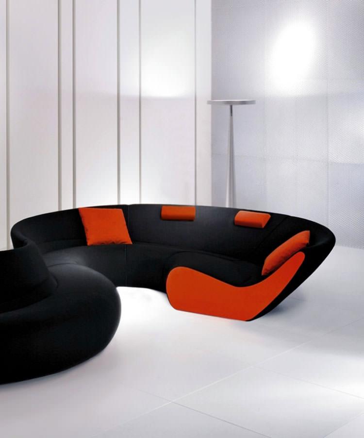 Divano modulare dal design moderno n.40
