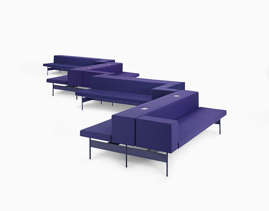 Divano modulare dal design moderno n.42