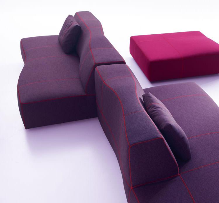 Divano modulare dal design moderno n.44