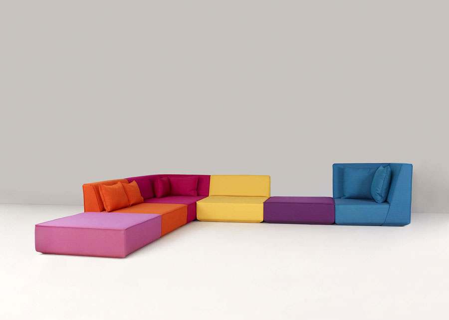 Divano modulare dal design moderno n.49
