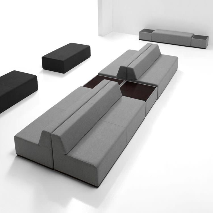 Divano modulare dal design moderno n.50