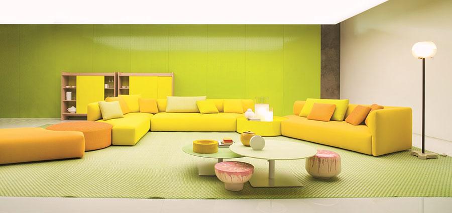 Divano modulare dal design moderno n.54