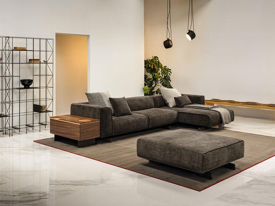 Divano modulare dal design moderno n.56