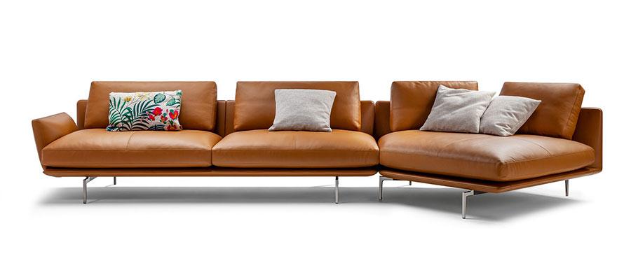 Divano modulare dal design moderno n.59