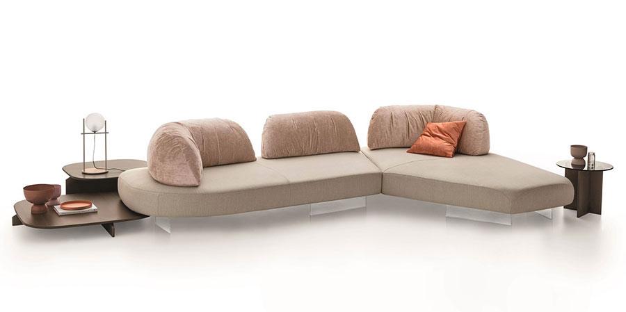 Divano modulare dal design moderno n.60