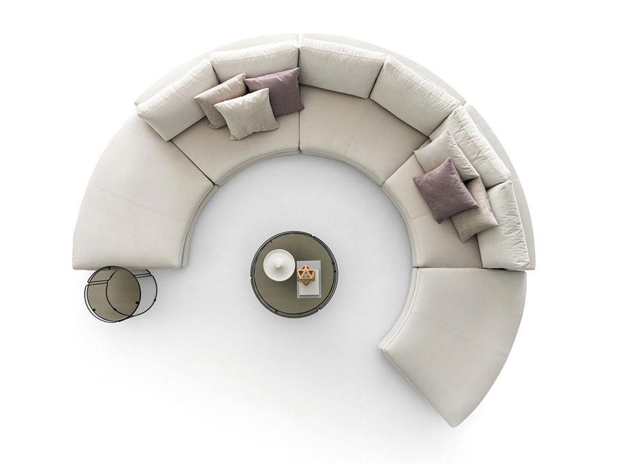 Divano modulare dal design moderno n.61