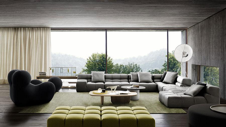 Divano modulare dal design moderno n.65