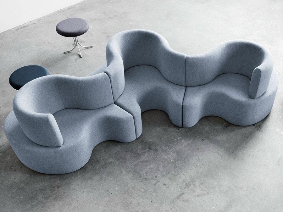 Divano modulare dal design moderno n.66