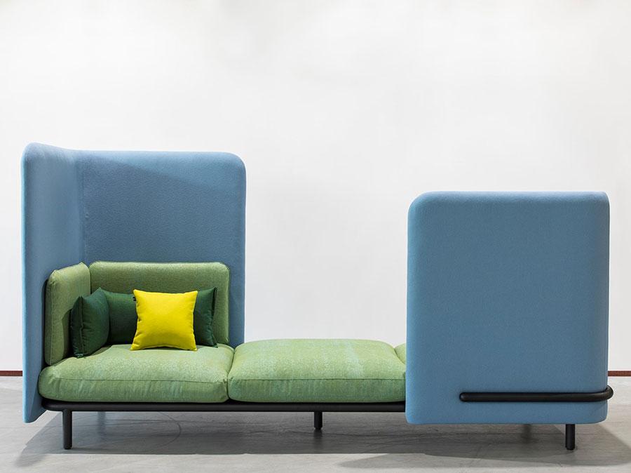 Divano modulare dal design moderno n.68