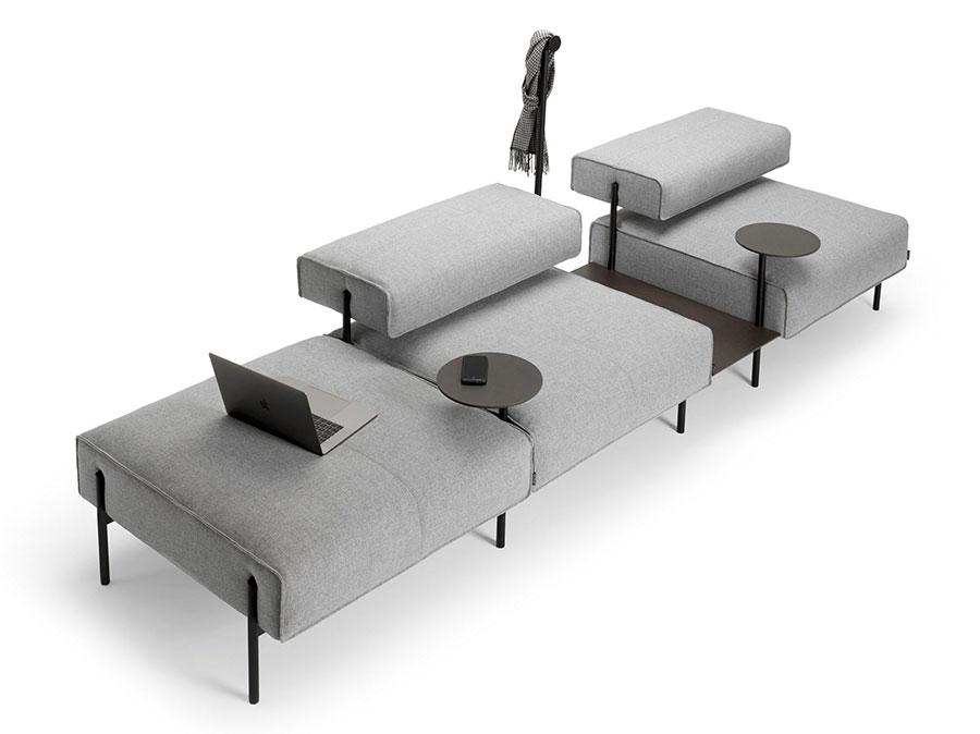 Divano modulare dal design moderno n.69