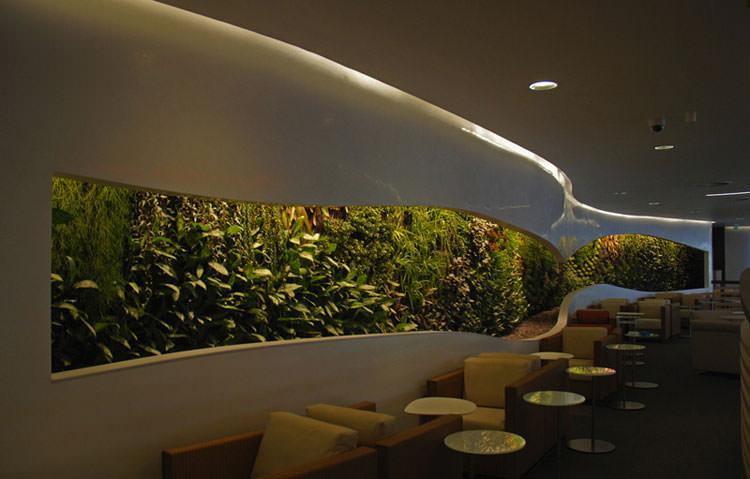 Idee per la creazione di giardini interni n.07
