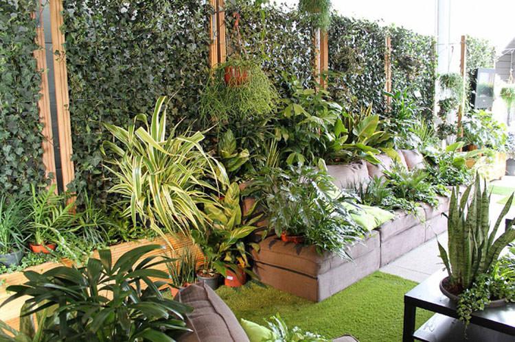 Idee per la creazione di giardini interni n.14