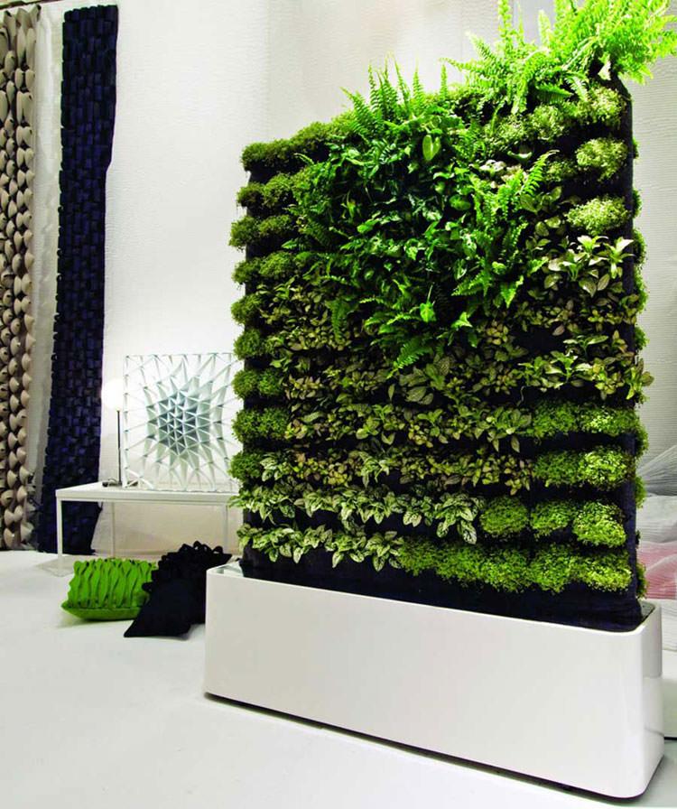 Idee per la creazione di giardini interni n.18