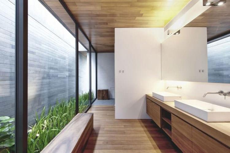 Idee per la creazione di giardini interni n.19