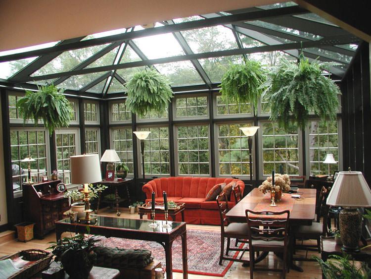 Idee per la creazione di giardini interni n.20