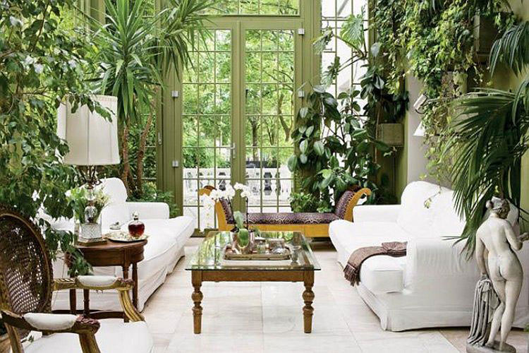 Idee per la creazione di giardini interni n.28