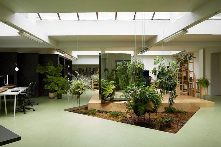 Idee per la creazione di giardini interni n.34