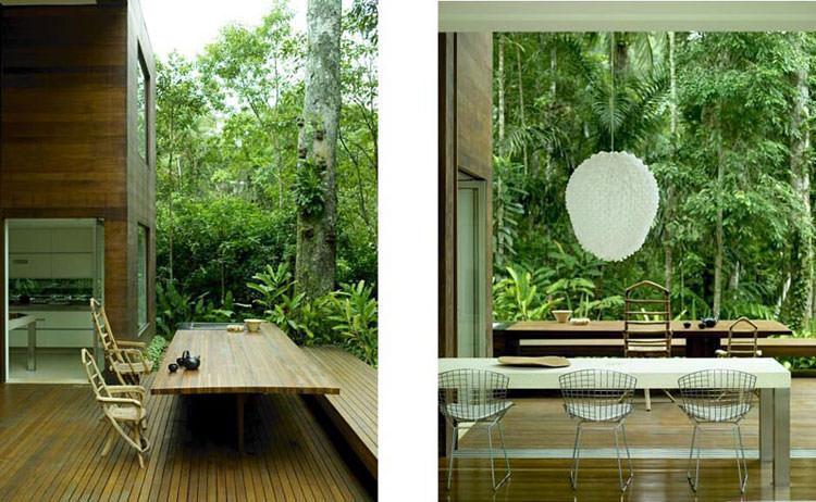 Idee per la creazione di giardini interni n.35