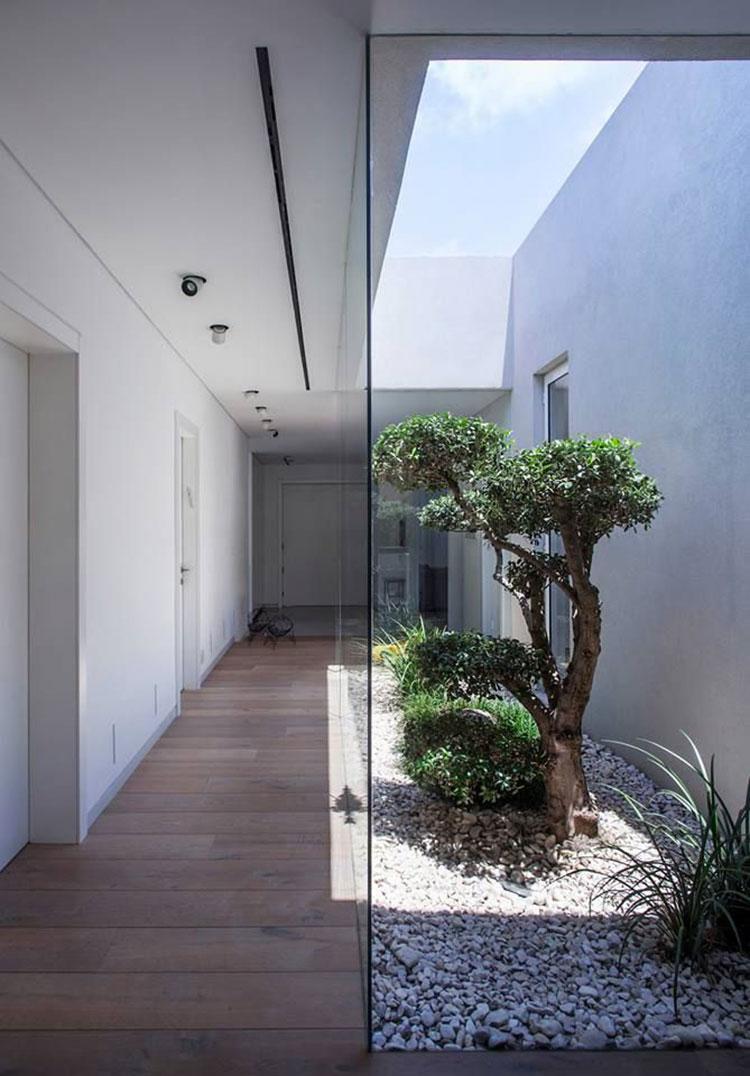 Idee per la creazione di giardini interni n.38