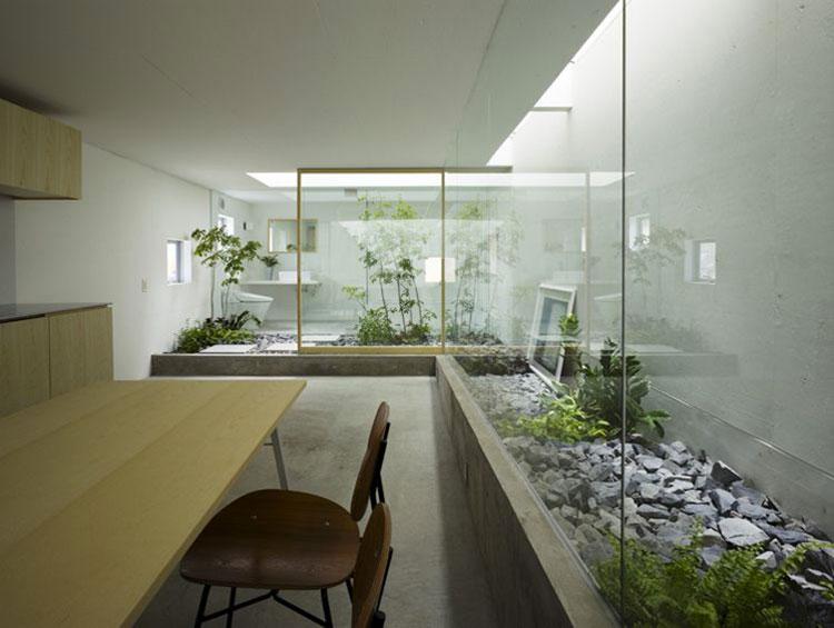 Idee per la creazione di giardini interni n.40