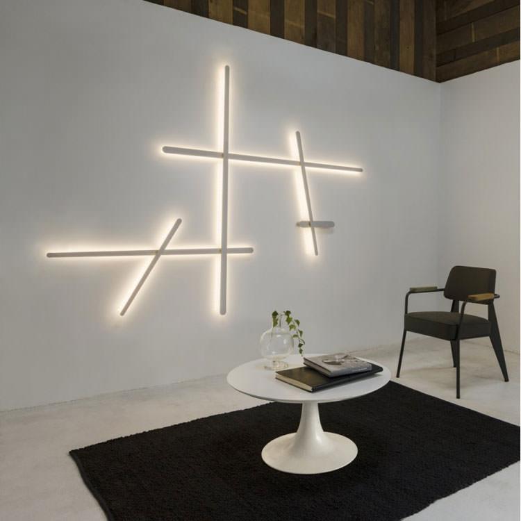 Incredibili lampade da parete dal design moderno for Lampade interni design