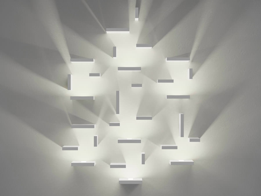 Plafoniere Da Muro Design : Lampadario da muro happycinzia