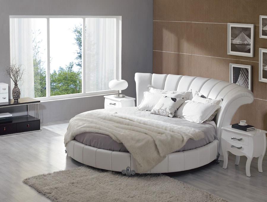 Modello di letto rotondo matrimoniale n.11