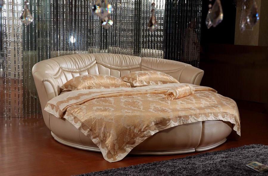 Modello di letto rotondo matrimoniale n.13