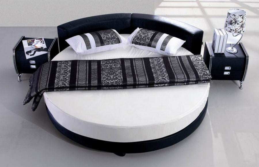 Modello di letto rotondo matrimoniale n.23