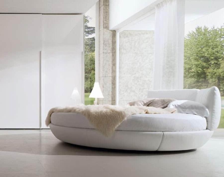 Modello di letto rotondo matrimoniale n.25