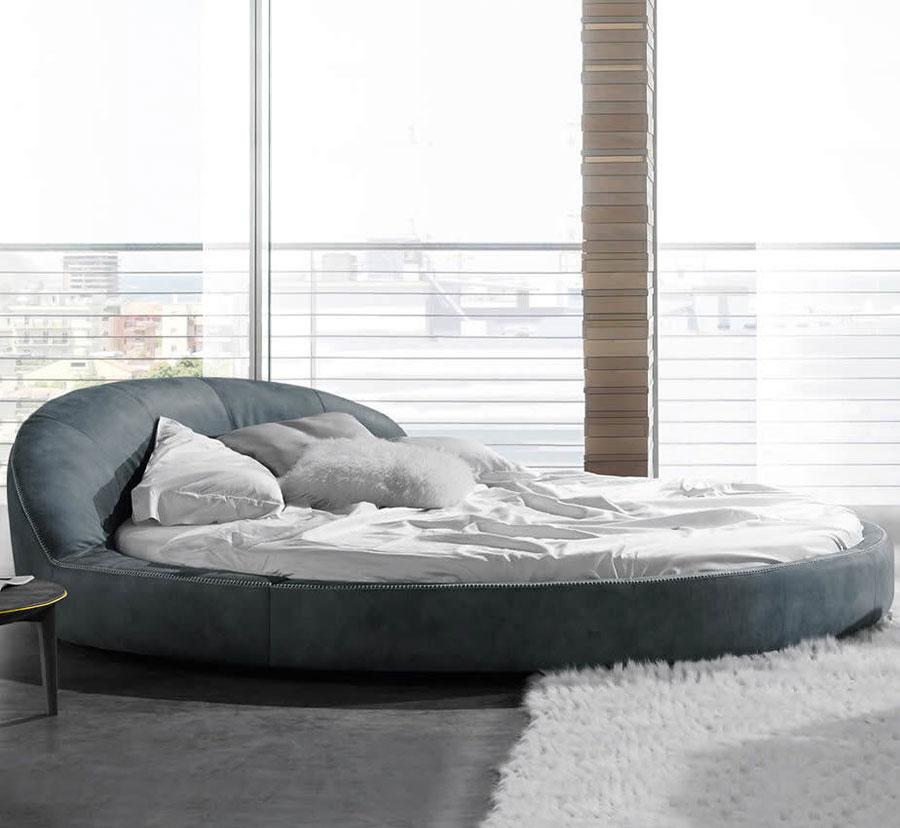 Modello di letto rotondo matrimoniale n.30