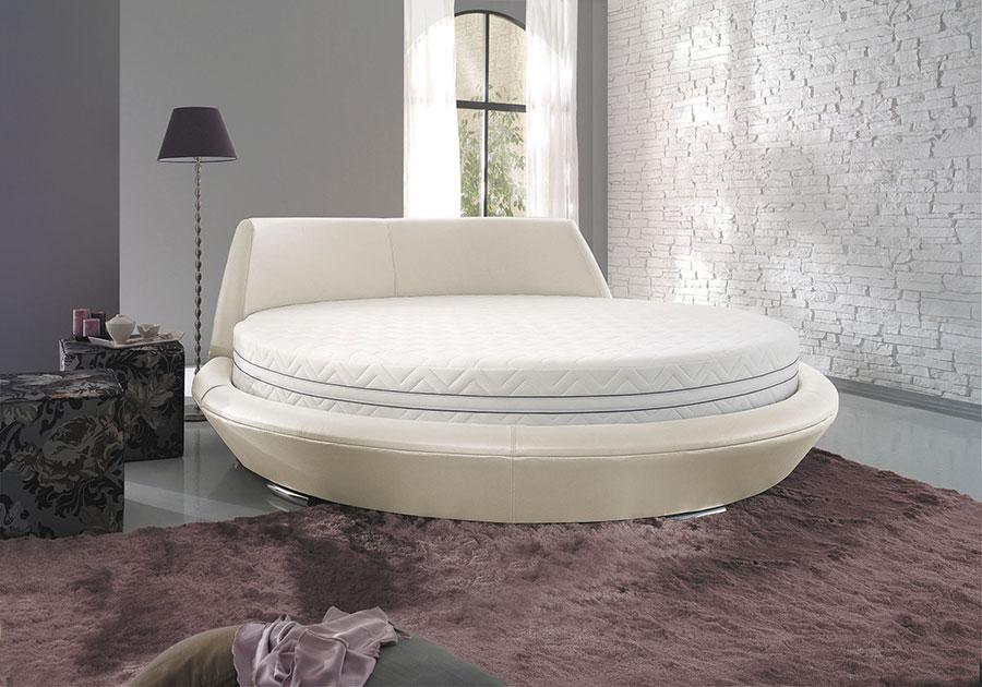 Modello di letto rotondo matrimoniale n.35