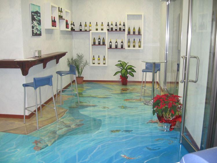 Piastrelle decorative per pavimenti interni: pavimenti per interni