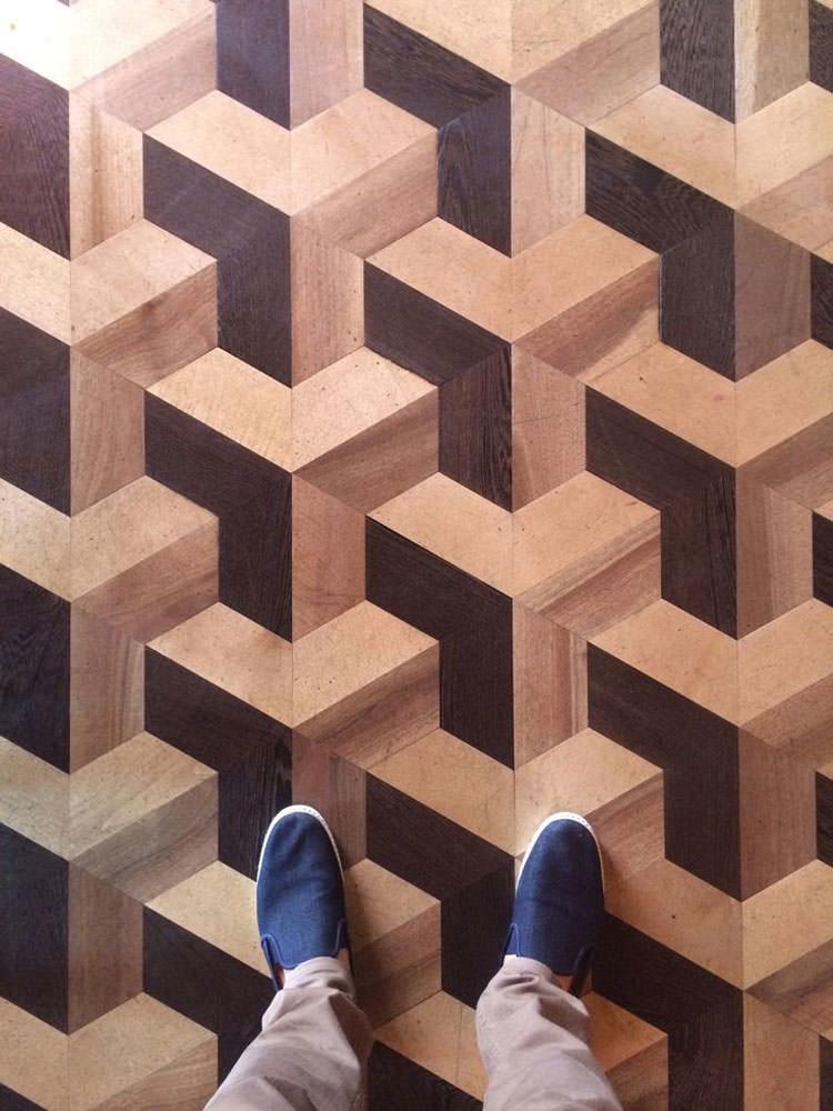Pavimento 3D decorativo n.13