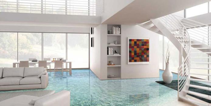 30 Spettacolari Pavimenti 3D Decorativi per Interni