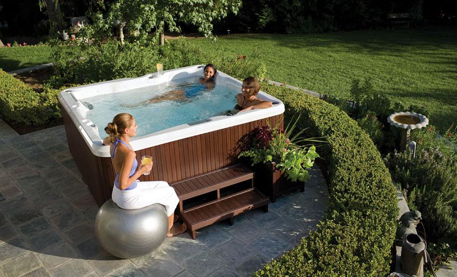 Modello di vasca idromassaggio di Jacuzzi n.1