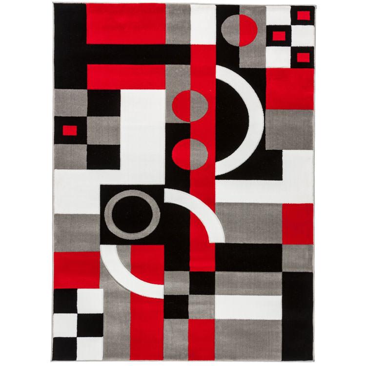 Tappeto dal design geometrico n.16