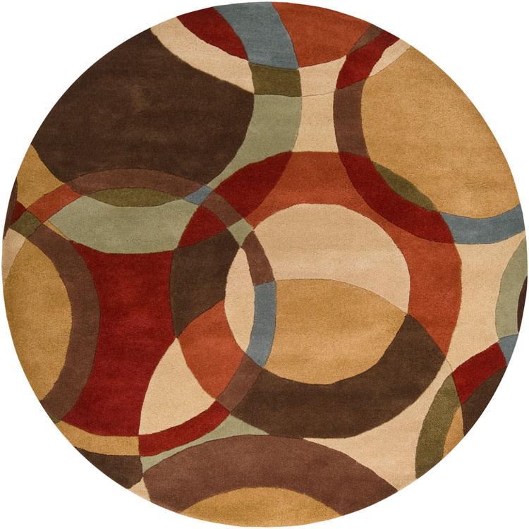 Tappeto dal design geometrico n.19